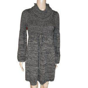 knitted new directions Cowl Neck Sweater Dress PM